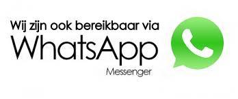 Stuur ons een whatsapp